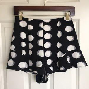 Nasty Gal polkadot shorts